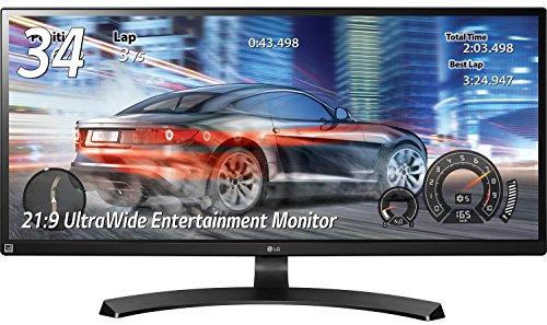 LG 34UM68-P IPSディスプレイ 34インチ/Gaming Ultra Wide/AH-IPS非光沢/2560×1080/HDMI