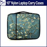 TaylorHe 9.7 inch iPad Case/10 inch 10.1 inch 10'2 inch Nylon Case for Netbook with side pocket and handle/10.1 Tablet Carry Case/10 inch Tablet Sleeve with handle/Colourful Carry Case for ipad 1 ipad 2 ipad 3 ipad 4/Samsung NC110/Acer Aspire One/Asus Ee