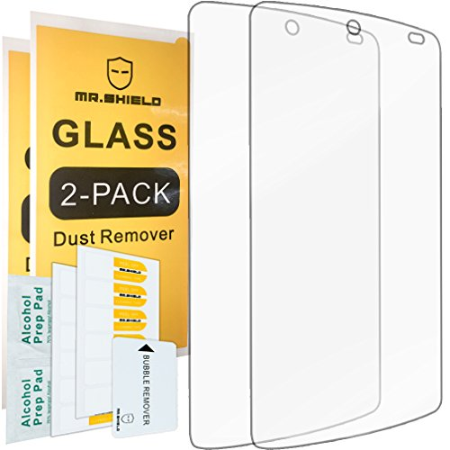 [2-PACK]-Mr Shield For Google(lg) Nexus 5 [Tempered Glass] Screen Protector with Lifetime Replacement Warranty (Nexus 5 Warranty compare prices)