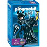Playmobil - 3315 - Chevaliers - Chevalier noir