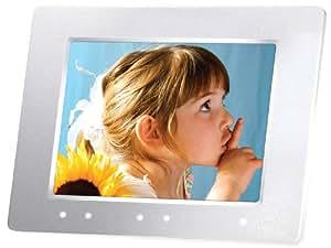 Transcend TS-2GPF810W Digitaler Bilderrahmen (20,3 cm (8 Zoll) Display, 2 GB interner Speicher, Radiofunktion) weiÃY