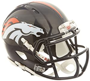 NFL Denver Broncos Revolution Speed Mini Helmet by Riddell