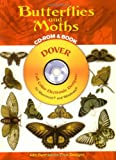 img - for Butterflies and Moths CD-ROM and Book (Dover Electronic Clip Art) book / textbook / text book