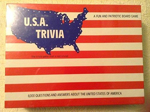 U.S.A Trivia A Fun And Patriotic Board Game