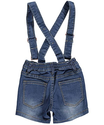 Lavo Little Girls' Toddler Clawed Overall Shorts overall yumi overall
