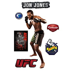 UFC Jon Jones Wall Graphic