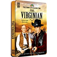The Virginian - The Complete Season Two - 30 Full Color Episodes 10 DVD Set in a COLLECTIBLE EMBOSSED TIN