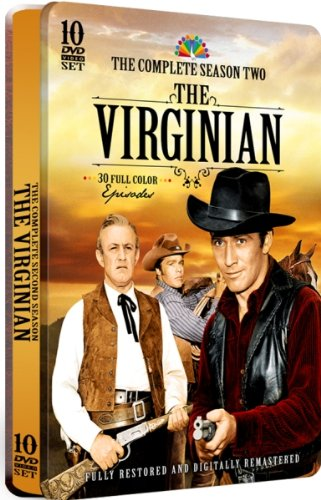 The Virginian: Season 2 - 30 Full Color Episodes! 10 DVD Set in a COLLECTIBLE EMBOSSED TIN!