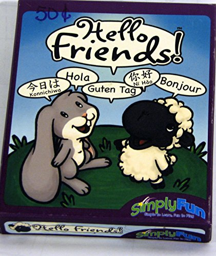 Hello Friends! Card Matching Game - 1