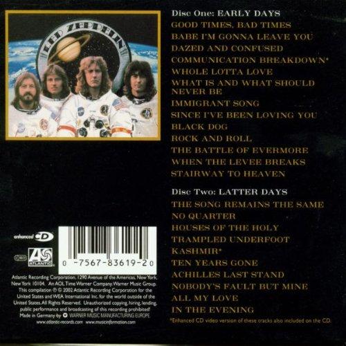 Led Zeppelin Album: «Early Days & Latter Days: 1 & 2»