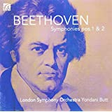 Beethoven : Symphonies n° 1 & 2. Butt.