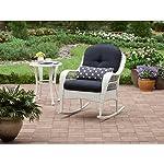 Azalea Ridge All-weather Rocker, Uv-protection, Perfect for the Front Porch, Patio or Sunroom, White