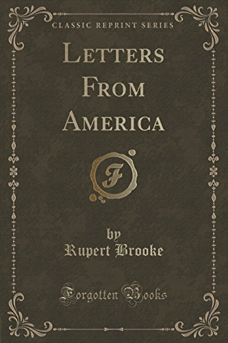 Letters from America (Classic Reprint)