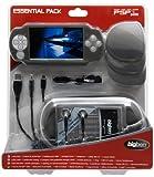 echange, troc Pack PSP slim  - Sacoche + 2 écrans de protection + 2 coques de protection  + pochette de rangement umd + 3 boîtes de rangeme