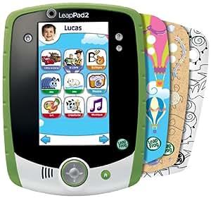 Leapfrog - 81407 - Jeu Educatif Electronique - Tablette Tactile Leappad 2+ Personnalisable - Vert