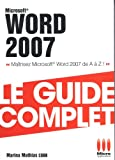 COMPLET£WORD 2007