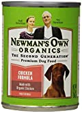 Newman's Own Organics Chicken Formula for Dogs, 12.7-Ounce Cans (Pack of 12)