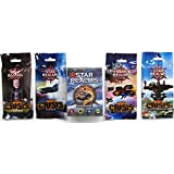 White Wizard Games Star Realms Deckbuilding Game With Star Realms Crisis Set (All 4 Packs: Bases, He