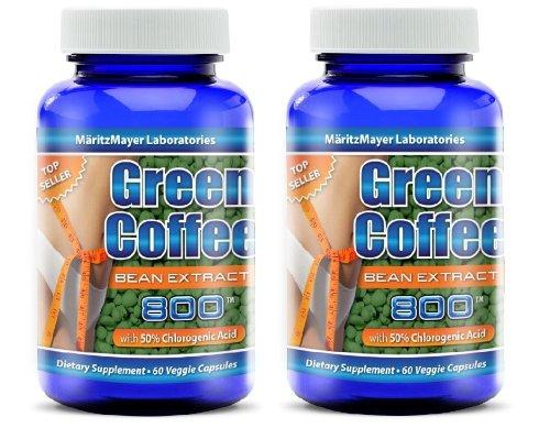 Maritzmayer Green Coffee Bean Extract 60 Count 2 Pack