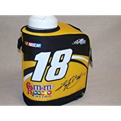 Buy #18 Kyle Busch, NASCAR, 1 Gallon Hydration Jug with Insulated Wrap by NASCAR #18 Kyle Busch, Joe Gibbs Racing