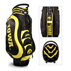 Brand New Iowa Hawkeyes NCAA Cart Bag - 14 way Medalist by Things for You