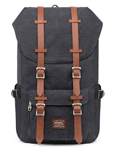 kaukko-canvas-herren-aussen-reiserucksack-fits-15-17-zoll-laptop-tasche-rucksack-schwarz
