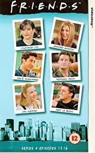 Friends: Series 4 - Episodes 13-16 [VHS] [1995]
