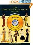 120 Great Fashion Designs, 1900-1950,...