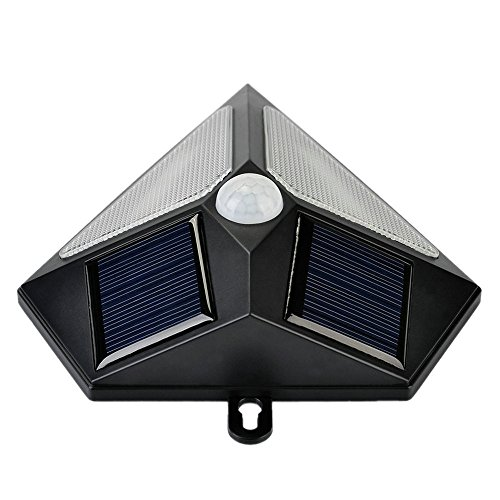 InaRock Large Size Solar Energy Powered Outdoor Landscape Lamp Motion Sensor Solar Flood Wall ...