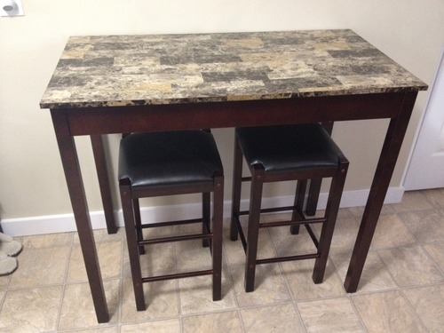 Amazon Com Linon Tavern Collection 3 Piece Table Set
