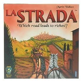 La Strada board game!