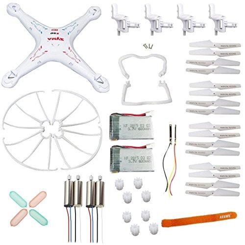 AVAWO Original Syma X5 X5C X5C-1 Quadcopter Spare Parts Crash Pack Kit