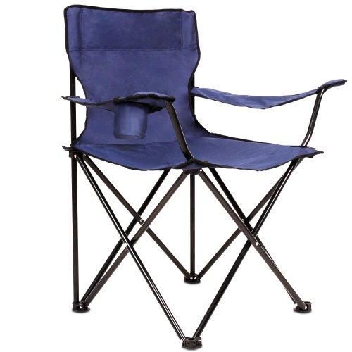 miadomodo chaise de camping cpst02 avec sac de transport fauteuil pliable avec porte. Black Bedroom Furniture Sets. Home Design Ideas