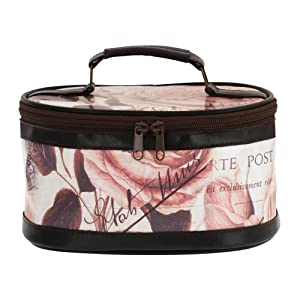 Danielle D7259 Wish You Were Here Vintage Collection Oval Train Cosmetic Bag