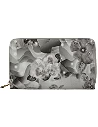 Kianna Black & White Women's Wallet