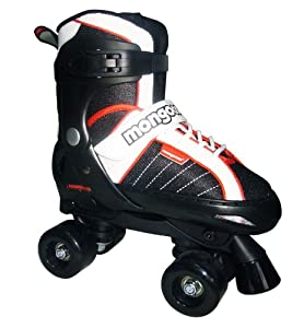 Amazon.com : Mongoose Hockey Quad Adjustable Inline Skates : Childrens