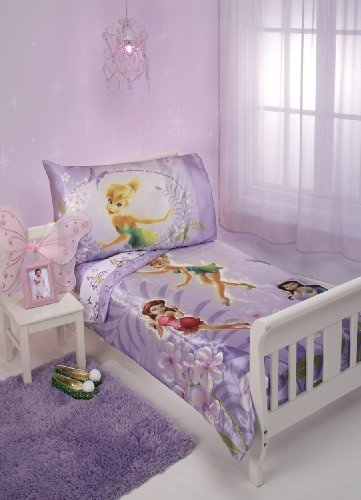Disney fairies room decor for Tinkerbell bedroom furniture