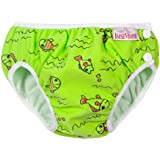 Imse Vimse Swim Diapers - Large - Green Fish