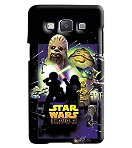 Blue Throat Star Wars Episode Vi Printed Designer Back Cover/Case For Samsung Galaxy A7