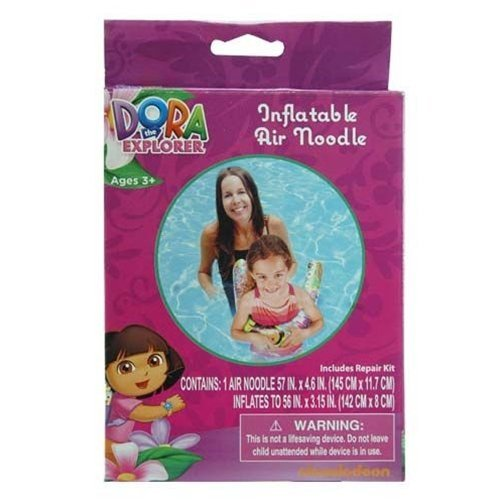 Dora the Explorer Inflatable Swimming Pool Air Noodle for Kids - 1