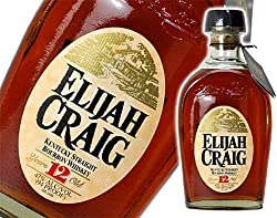 エライジャ クレイグ 12年 正規品 750ml 47度 バーボン