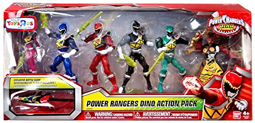 "Power Rangers Dino Charge Dino Action Pack 6"" Action Figure Set"