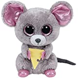 Squeaker Mouse with Cheese Boo Small - Stuffed Animal by TY (36192)