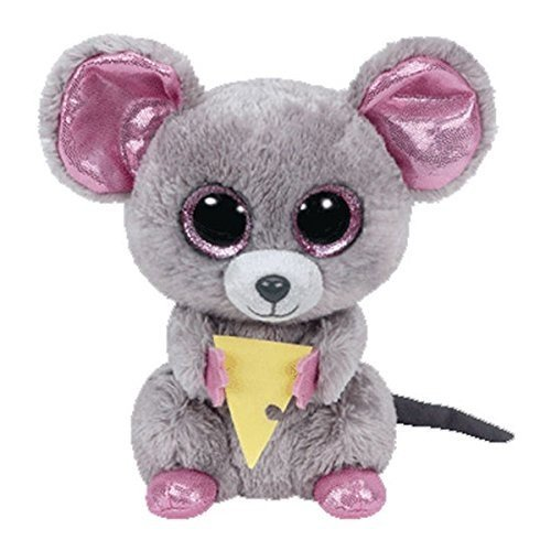 adc7f1ce9e8 Ty Beanie Boos Squeaker The Mouse with Cheese Plush