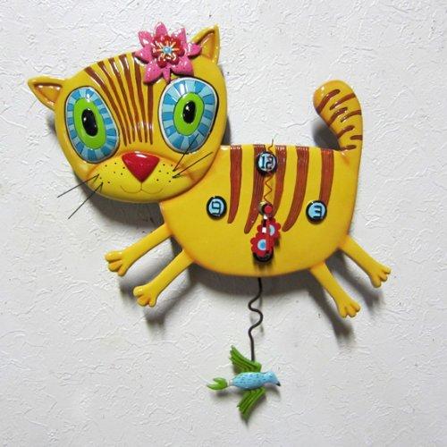 Your Kitty <P1076>pendulum clock wall clock