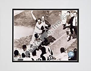 "Bill Mazeroski, Pittsburgh Pirates, 1960 World Series Winning Home Run, Sepia, Double Matted 8"" X 10"" Photograph (Unframed)"