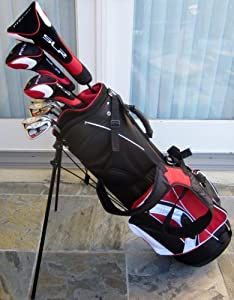 Mens Complete Golf Set Clubs Driver, Wood, Hybrid, Irons, Putter, Sand Wedge, and... by PreciseGolfCorp