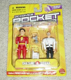 DC Comics Pocket Superhero - SHAZAM & SIVANA - Series 2
