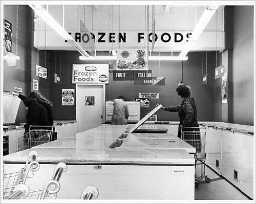Frozen Food Shop, 1970s