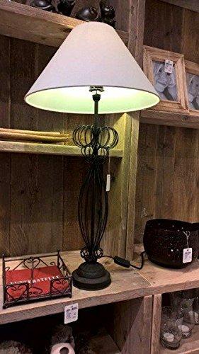 Standleuchte-auergewhnlich-groe-schicke-Tischlampe-im-modernen-Landhausstil-Standleuchte-auergewhnlich-groe-schicke-Tischlampe-im-modernen-Landhausstil-Hhe-gesamt-ca-80-cm